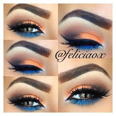 This Pin was discovered by Ashlyn Mattingly. Discover (and save!) your own Pins on Pinterest.   See more about Broncos, Makeup and Orange.
