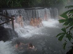 Tabacon Hot Springs and Spa, Waterfall, Costa Rica