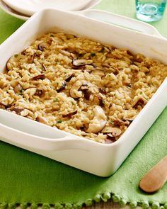 28. Microwave Mushroom Risotto #healthy #quick #recipes https://greatist.com/health/surprising-healthy-microwave-recipes