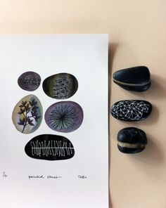 painted stones by tiel seivl-keevers