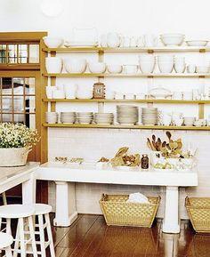 Domino.  Kitchen shelf