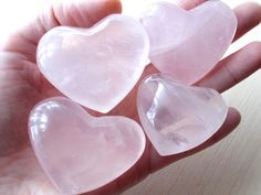 Rose Quartz Heart Rose Quartz Crystal Healing