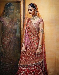 Buy The rosabelle - Designer Sarees, Salwar Kameez, Lehenga, Sherwani, Indo Western Suits Indian Bridal Photos, Indian Bridal Outfits, Indian Bridal Fashion, Indian Bridal Wear, Indian Wear, Indian Bridal Lehenga, Bridal Lehenga Choli, Red Lehenga, Muslim Wedding Dresses