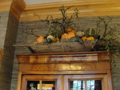 Autumn decorating from Nell Hill's