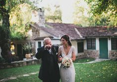 Beautiful dress! Ojai Valley Inn and Spa wedding venue | Photo by Studio Castillero | 100 Layer Cake