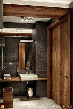 Bathroom Design & Decor - 7 Great Ideas for Your Bathroom Remodel - Ribbons & Stars Bathroom Layout, Modern Bathroom Design, Bathroom Interior Design, Bathroom Designs, Bathroom Shelves, Bathroom Ideas, Bad Inspiration, Bathroom Inspiration, Grey Bathrooms