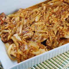 Onion Honey Dijon Chicken