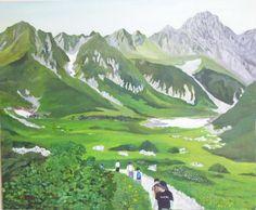 RELAX画「夏の千畳敷カール」[さかえ(前林栄)]   ART-Meter