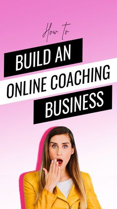 Discover the best way to build an online coaching business that gives you the freedom to travel, make money, and work from your laptop. Creating A Business, Business Tips, Online Business, Online Personal Training, Online Coaching, Digital Marketing Strategy, Online Marketing, Instagram Tips, How To Make Money