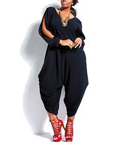 MENGK Women's Elegant Long Sleeve Bodycon Romper Party Jumpsuits -black-US L/Tag XL MENGK http://www.amazon.com/dp/B0159W2ENO/ref=cm_sw_r_pi_dp_5raGwb0RTN6S6