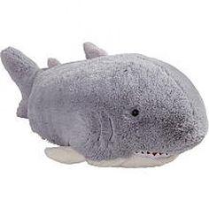 """Pillow Pets Grey Pillow Pet- PeeWee Shark - 11"""" >>> More details @"""