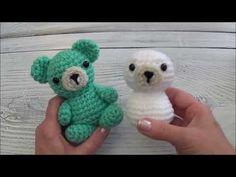 Mini Safari Friends Elephant (Amigurumi To Go! Sharon Ojala, Crochet Animals, Crochet Scarves, Crochet Projects, Crocheting, Dinosaur Stuffed Animal, Elephant, Diy Crafts, Make It Yourself