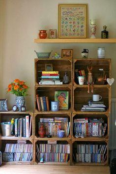 Já pensou na possibilidade de usar pedaços de madeira e galhos na decoração? Com criatividade a gente não precisa gastar quase nada! Confira!