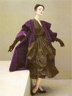 Vintage Balenciaga — rich, lush colors
