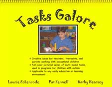These tasks were used by the authors in North Carolina TEACCH-affiliated classrooms and in University of North Carolina Division TEACCH treatment sessions and trainings, and are applicable to any student working on early learning concepts. Newly revised with new tasks.
