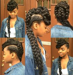 The this hairstyle
