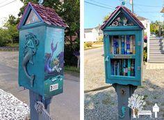 Mermaid Book Nook