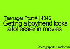 Get a boyfriend, teenager posts boyfriend, teen quotes, funny quotes, funny teenager Teen Boyfriend, Boyfriend Quotes, Teenager Posts Boyfriend, Teenager Quotes, Teen Quotes, Teen Humor, Funny Quotes For Teens, Hilarious Quotes, 9gag Funny