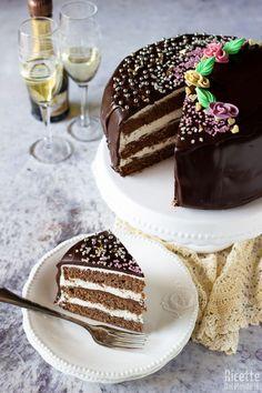 Molly Cake, Bakery Cakes, Fika, Tiramisu, Panna Cotta, Cake Recipes, Gluten Free, Chocolate, Baking