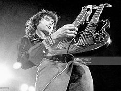 Photo of Jimmy PAGE; guitarist with Led Zeppelin