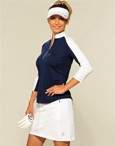 Play the competitive and sophisticated sport of Golf without compromising on style in the Jofit Signature Golf Outfit-- perfect addition to your Golf wardrobe!  #golf #golfstyle #lpga #lorisgolfshoppe