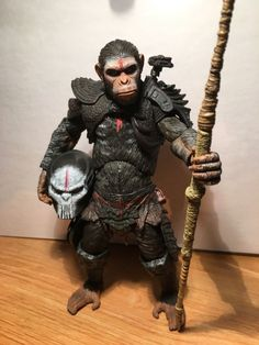 Dawn of the Planet of Predators (Planet of the Apes) Custom Action Figure
