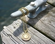 Holiday Gifts That Are Pure Rhode Island - Toll Bridge Token Necklace from Green Envy Eco-Boutique