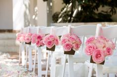 dream wedding images, image search, & inspiration to browse every day. Cheap Wedding Flowers, Flower Bouquet Wedding, Rose Wedding, Purple Wedding, Dream Wedding, Wedding Day, Spring Wedding, Wedding Pew Decorations, Wedding Pews