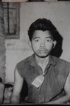 Victim of the Khmer Rouge genocide in Cambodia. http://www.visiontimes.com/2015/04/11/the-insanity-of-s-21-the-khmer-rouges-hell-hole.html