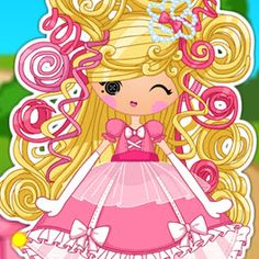 Lalaloopsy Girls Cinder Slippers Dress Up Game!
