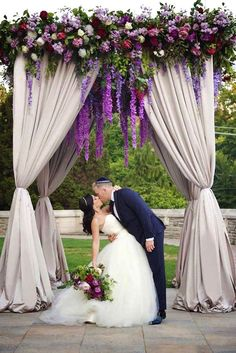 24 The Best Lavender Wedding Decor Ideas ❤ See more: http://www.weddingforward.com/lavender-wedding-decor-ideas/ #weddings #decorations