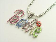 Nicki Minaj Barbie Necklace (Multi color)