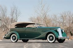1936 Packard Eight Phaeton, believed to be the last remaining example, sells for $176,000 in Las Vegas