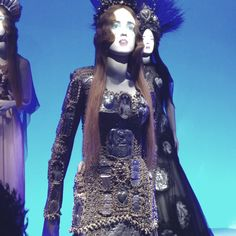 From the deYoung Gaultier exhibit