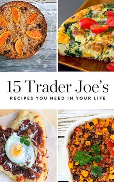 From squash tacos to cookie butter cake, meet the 15 Trader Joe's recipes you need in your life. Save and use on your next TJ's run.