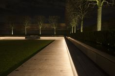 Latest little project completed is an area at Paddington, London which we integrated LED strips into the underside of the timber seating and up-lit the trees. The space is used for an outdoor cinema in the summer, with the gap in the centre of the...