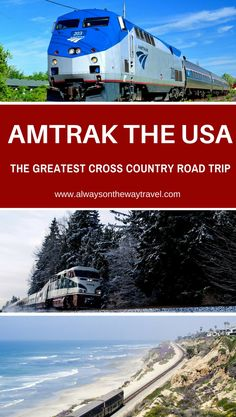 Taking the Amtrak across the USA has always been on my bucket list, and I finally got the chance. Here is the overview of the journey and Amtrak trip tips.