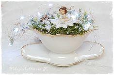 #Weihnachtsdeko #ShabbyChic http://de.dawanda.com/product/92381119-weihnachtsdeko-engelchen-shabby-chic