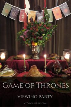 Game of Thrones Party viewing party