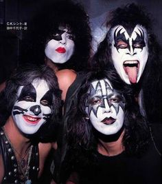 KISS. The hype and glory of KISS worked in the 70's and early 80's. Now, and this is my own personal opinion, it just is not working the second time around. Awhole new bunch of LISS fans that would disagree with me. But as a Fan from the 70's and of the original four,they are just trying to get another 15 minutes of that hype and glory they had back then.
