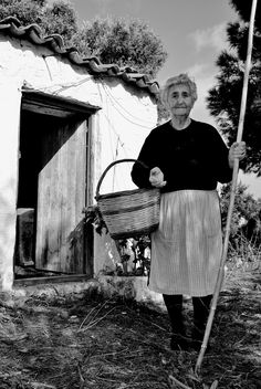 Village life in Skiathos, Greece