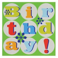 """Green Birthday Bubble Square Paper Napkins, 13"""", 20-ct. Pack"""