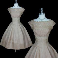vintage dress. sweet.