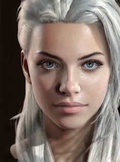 ArtStation - Jaina face, George Panfilov