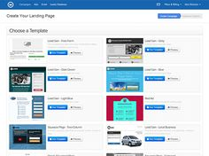 Wishpond's landing page builder makes it easy to create beautiful, mobile-responsive landing pages. free landing page templates. Create Landing Page, Landing Page Builder, Page Template, Templates, Portfolio Website Design, Mobile Responsive, Stencils, Vorlage, Models