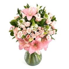 Pink Floral Bouquets for a very special someone! Send it to her office for her to show off!