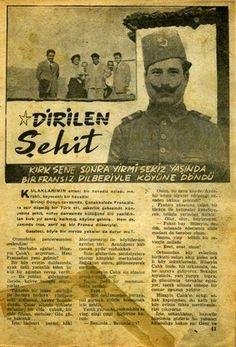 Çanakkale Savaşı'nda Fransızlara esir düşmüş yüzlerce Türk askerinden biri olan Çalık Hüseyin'in hikayesi