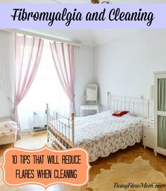 fibromyalgia and household chores - tips to reduce flares when cleaning #fibromyalgia #fm #cleaning #flares http://www.beingfibromom.com/fibromyalgia-and-household-chores/