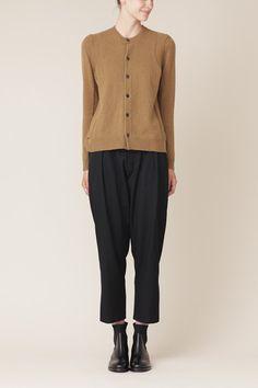 Yohji Yamamoto Waist Shirring Pant (Black)