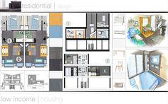 Interior Design Portfolio For Professional Career Finding And Building Boards